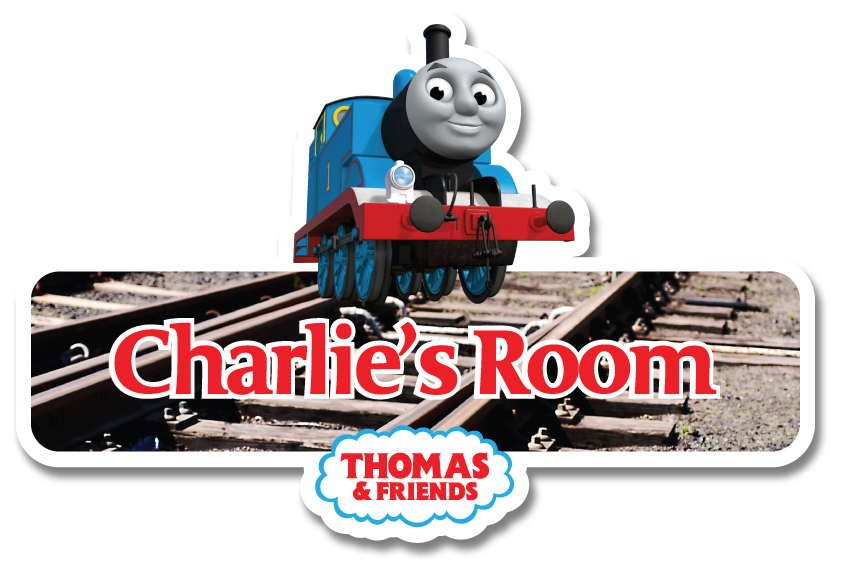 Thomas The Tank Engine Personalised Name Plate/Door